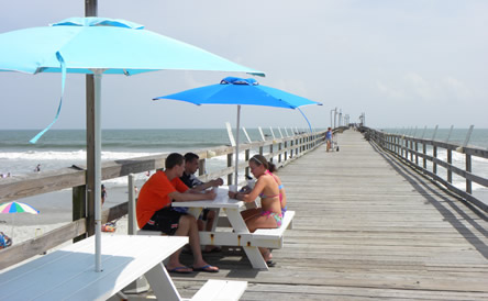 Tables on the Pier